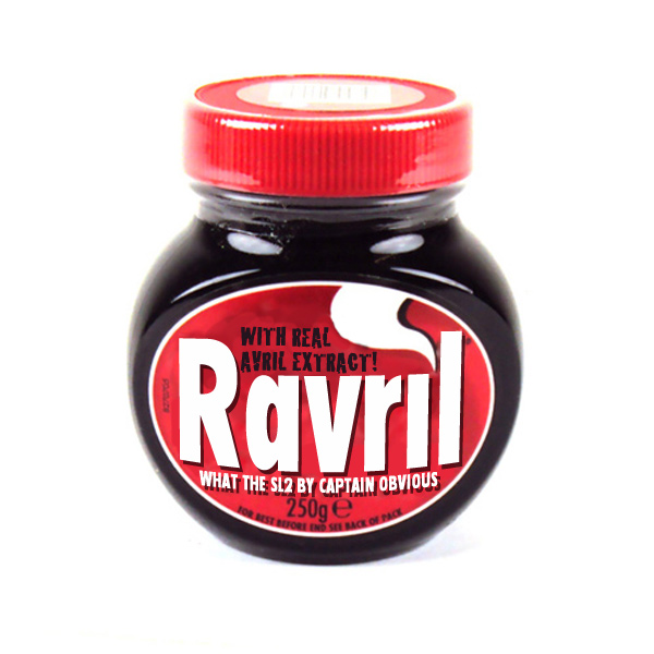 Mash and Beef: Ravril - Pure Avril Extract from Captain Obvious (Avril Lavigne vs SL2) ravril