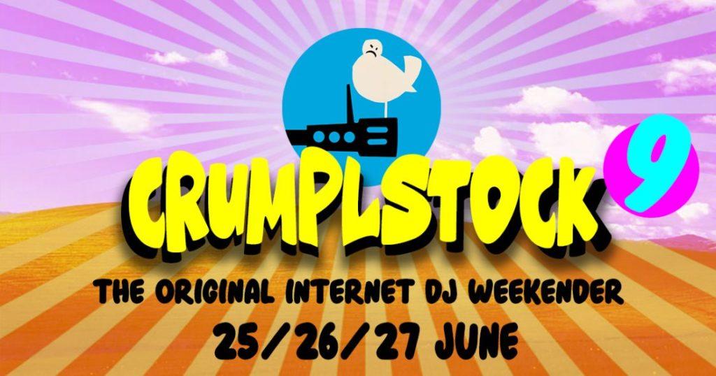 Crumplstock 9 banner June 2021 mashups bootlegs bastard pop crumplbangers soundclown, bangface, donk