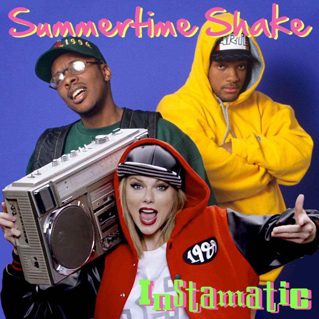Taylor Swift vs Jazzy Jeff & The Fresh Prince - Instamatic Summertime Shake mashup bootleg bastard pop